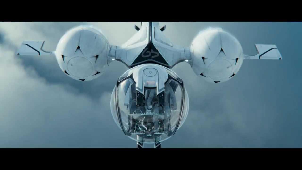 Oblivion Wallpaper Hd Oblivion 2013 Deleted Scene Bubbleship Flyby Youtube