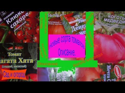 Новые сорта томатов. Описание. Сад и огород выпуск 122