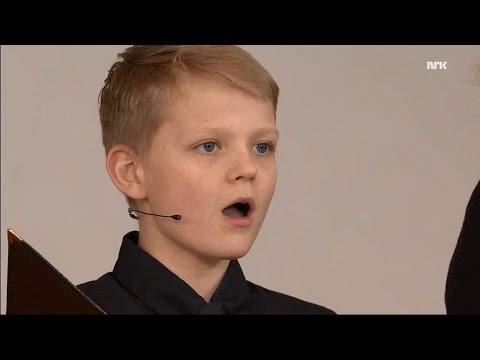 Miserere mei, Deus (Allegri) | Nordstrand Church Choir | Aksel Rykkvin (12y treble) | NRK