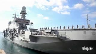Il Passaggio della Cavour dal Canale Navigabile di Taranto