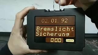 Ремонт бортового компьютера Opel Omega B/Замена шлейфа/Мід дисплей/БК Опель