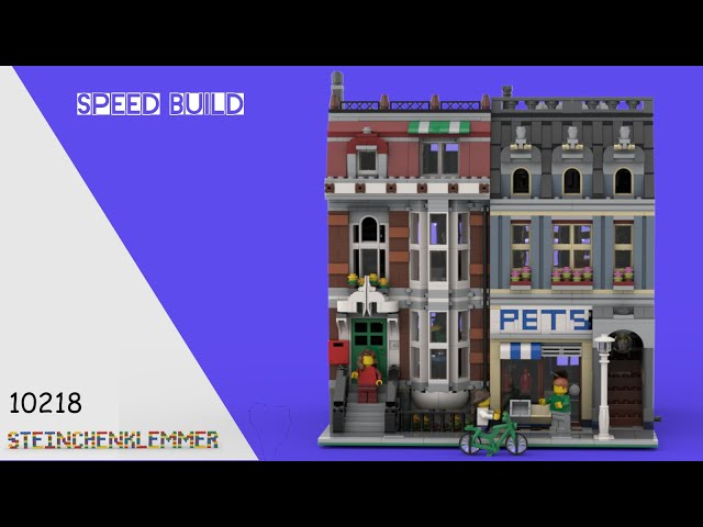10218 Zoohandlung ! Speed Build