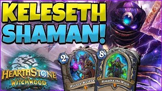 DESTROYING WARLOCKS WITH KELESETH SHAMAN DECK! MECHA JARAXXUS BACK TO OBLVION! HS COMMENTARY