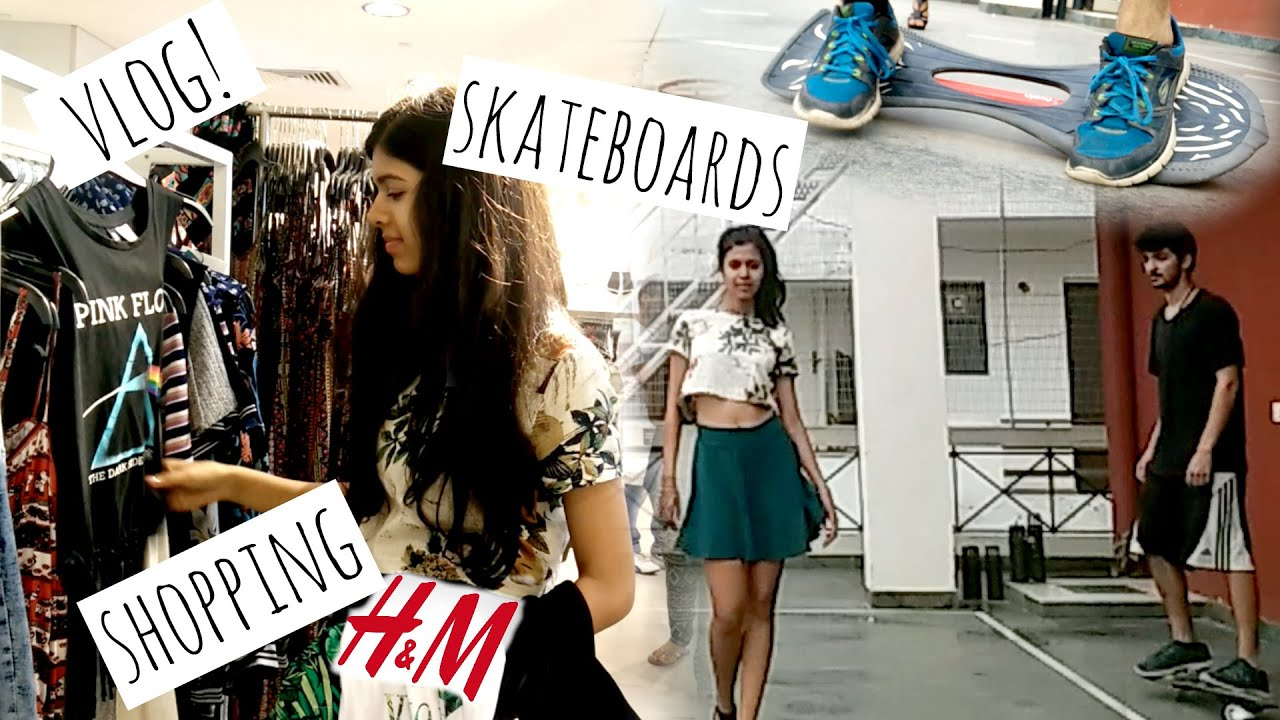A Day in My Life: Skateboards and Shopping! VLOG!| Sejal Kumar