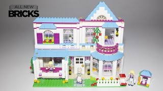 Lego Friends 41314 Stephanie's House Speed Build