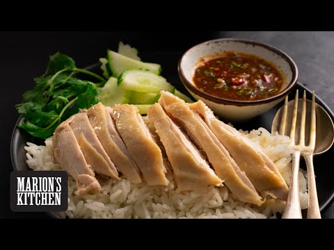 How To Make Thai Street Food Chicken Rice At Home - Marion's Kitchen