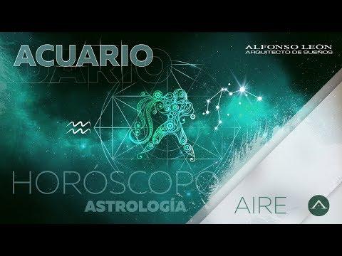 ACUARIO | 16 AL 22 DE OCTUBRE | HORÓSCOPO SEMANAL | ALFONSO LEÓN ARQUITECTO DE SUEÑOS