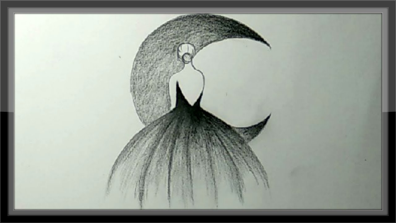 Pencil Drawing A Beautiful Picture Step By Step - YouTube