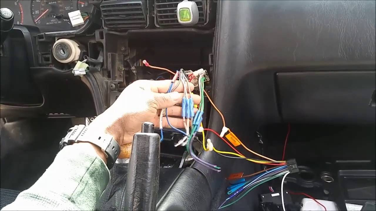hight resolution of 1991 mr2 double din install