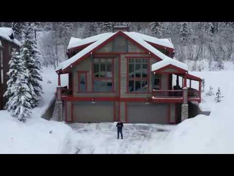 Drone Video Whitefish MT
