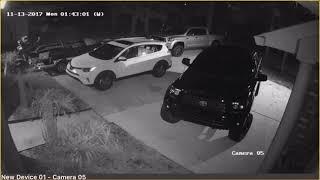 Mandeville vehicle burglaries video