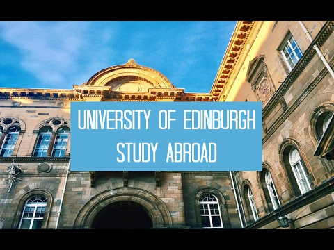 Day in the Life of A Study Abroad Student (University of Edinburgh)   January 24 - 27, 2017