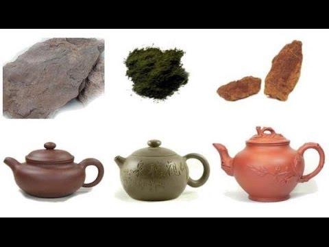 Виды глины. Types of clay.