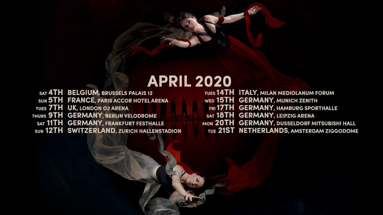 Evanescence Tour 2020.Worlds Collide Tour 2020 Within Temptation X Evanescence Are Touring Europe Together