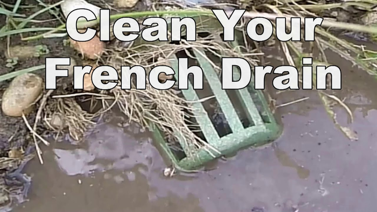 How To Clean French Drain A Good Drain Cleaning Machi