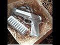 Шоколадные инструменты и пистолет в подарок