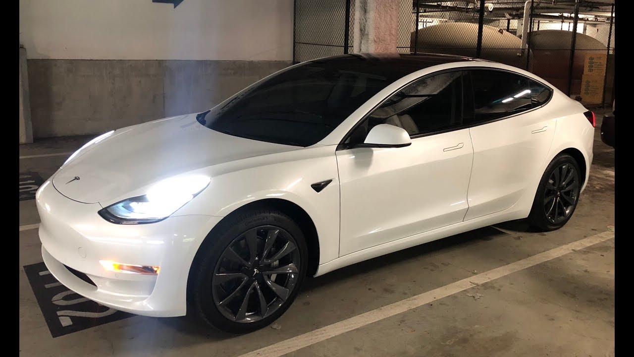 Chrome Delete On White Model 3 White Or Black Door Handles Page 4 Tesla Motors Club