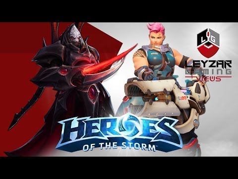 Heroes Of The Storm (HotS News) - Alarak   Zarya   Raider Rexxar   Butcherlisk (My Reaction)