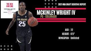 McKinley Wright Scouting Report: 2021 NBA Draft