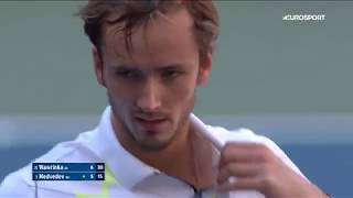 даниил Медведев - Стэн Вавринка. US Open-2019. Обзор матча