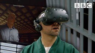How VR can prepare prisoners for life on the outside | The Americas with Simon Reeve - BBC