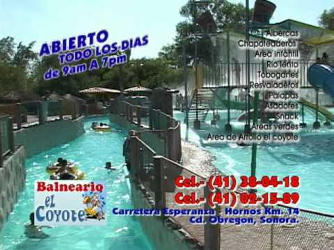 Balneario el coyote youtube for Albercas portatiles en hermosillo