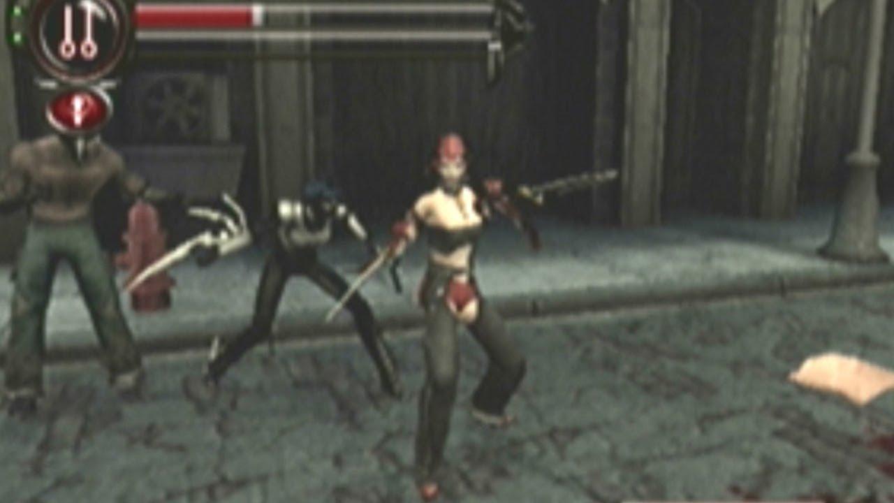 Cgrgameplay Bloodrayne 2 Ps2 Level 2 Part 5 Walkthrough Youtube