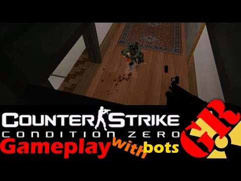 Counter-Strike: Condition Zero gameplay with Hard bots - Truth - Terrorist