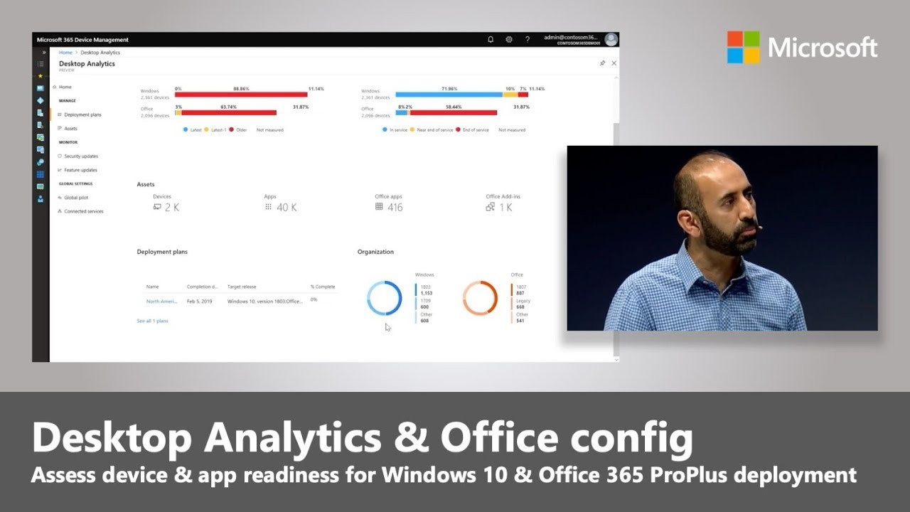 Desktop Analytics for Windows 10 and Office 365 ProPlus | Best of Microsoft  Ignite