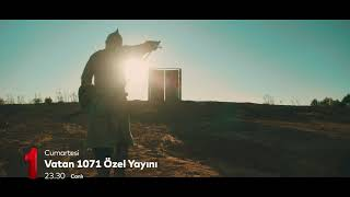 Vatan 1071 özel yayını cumartesi 23.30'da #TRT