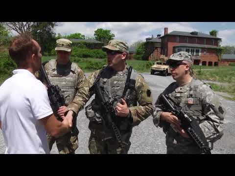 DFN:Access Control training for Vigilant Guard 18, SYKESVILLE, MD, UNITED STATES, 05.08.2018
