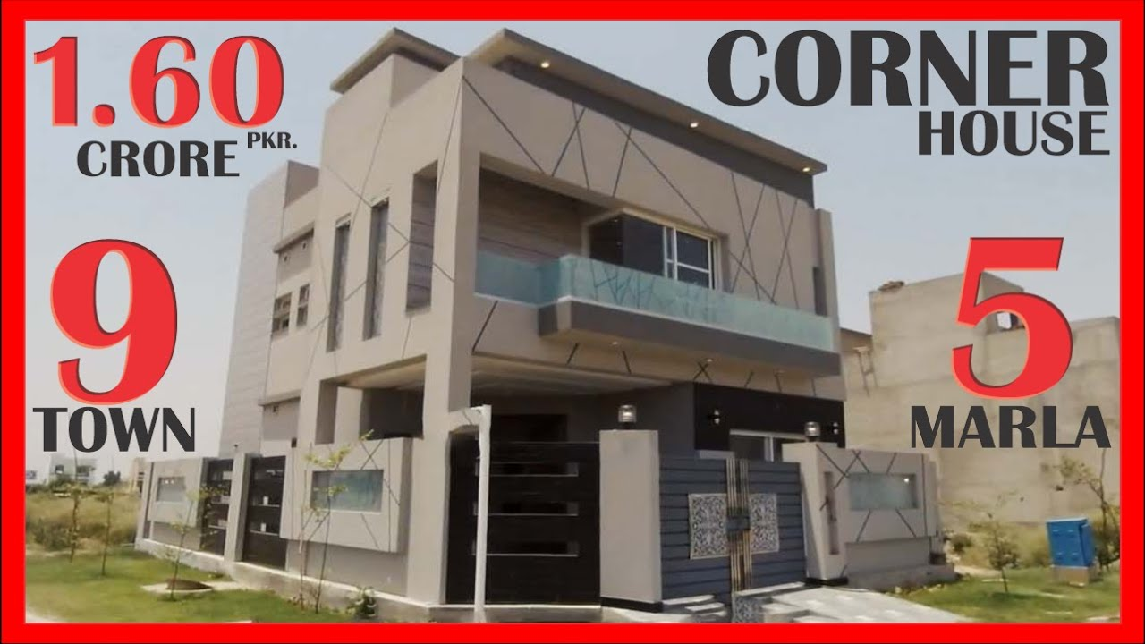 DHA LAHORE: 5 MARLA HOUSE FOR SALE IN 9 TOWN PRICE 1.60 CRORE