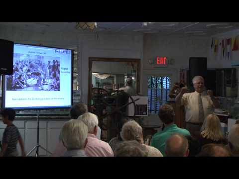 August 8, 2013 History Lecture: The Art of War in the Age of Sail with Chip Feazel