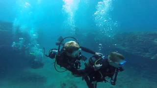 Alexander, Claus, Mark & Jame Diving in Gran Canaria with Blue Water Diving July 2015