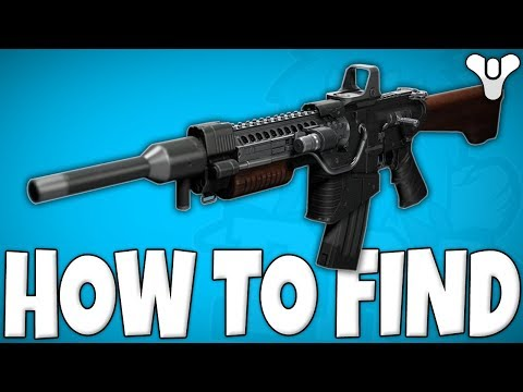 Destiny 2 - How To Find The KHVOSTOV 7G-0X (EASTER EGG)