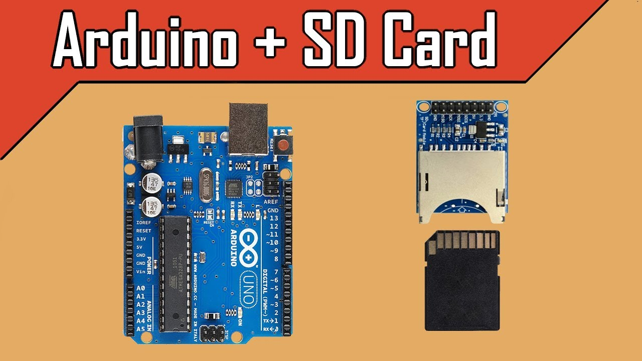 SD Card Reading Writing Module for Arduino - Robu in | Indian Online