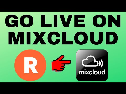 How to Livestream to Mixcloud with Restream Live Studio - Easy