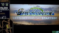 Local TV Bandscan for Jacksonville, FL (2015)