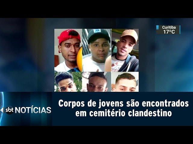 Corpos de jovens são encontrados em cemitério clandestino | SBT Notícias (11/03/19)
