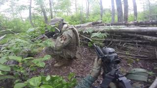 Deep Woods Action at Mersey Road Paintball