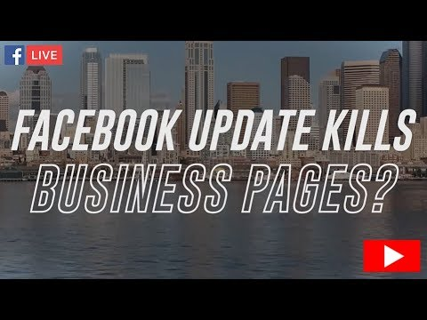 Facebook Update Kills Business Pages | TheREsource.tv