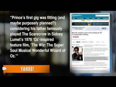 Prince  Michael Jackson's Son Lands Special Correspondent Gig.