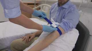 How to apply a tourniquet for clinical skills- cannulation and venepuncture