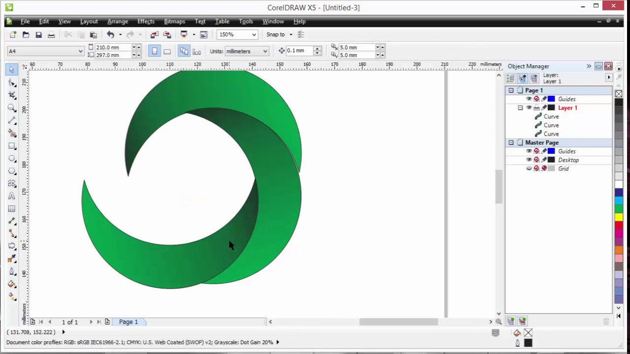 how to draw circle in pdf