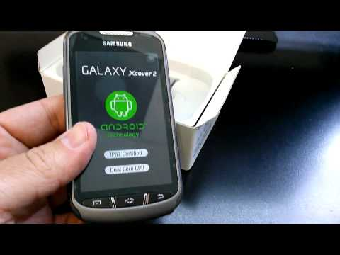 SAMSUNG S7710 GALAXY XCOVER 2 Unboxing Video - CELL PHONE in Stock at www.welectronics.com