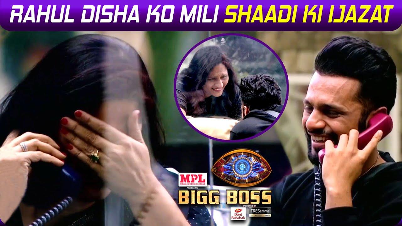 Download Bigg Boss 14: Rahul & Disha Ko Mili Shaadi Ki Ijazat, Maa Geeta Vaidya Ne Suru Ki Shaadi Ki Tyaari