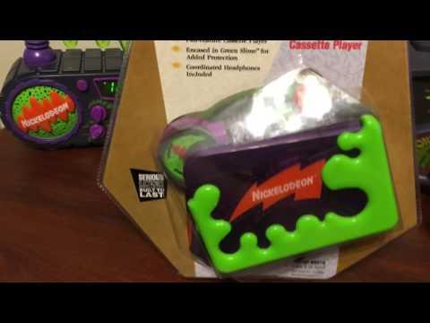 Nickelodeon Cassette Player