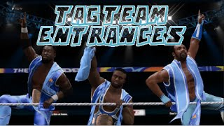 WWE 2K16 | All Tag Team Entrances