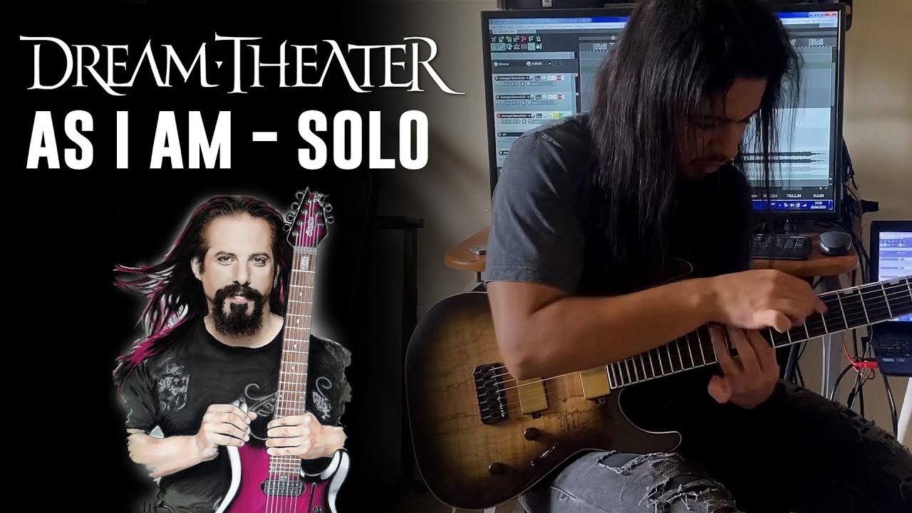 MY VERSION OF 'AS I AM' (DREAM THEATER) SOLO  | LUIS KALIL