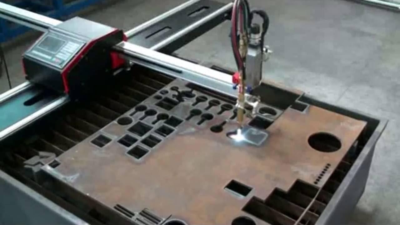 Hnc 1500w Crossbow Portable Cnc Plasma Flame Gas Cutting